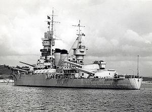 First Battle of Sirte - Italian battleship Andrea Doria