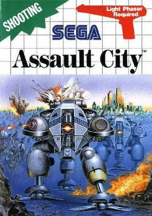 Assault City - Cover art of Assault City