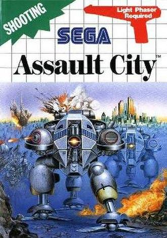 Assault City - Cover art of Assault City