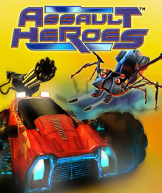 Assault Heroes - Cover art for the Xbox Live version.