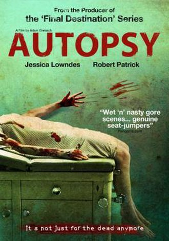 Autopsy (2008 film) - DVD cover