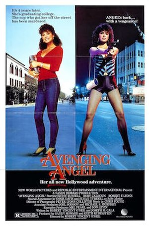 Avenging Angel (1985 film) - Original movie poster