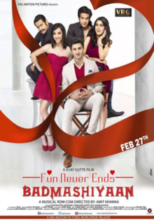Badmashiyaan (2015) Watch Online Free Hindi Movie