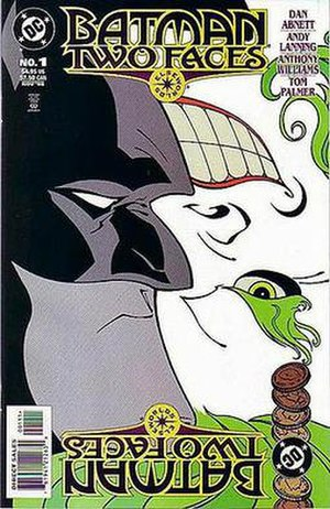 Batman: Two Faces - Cover to Batman: Two Faces Art by Anthony Williams and Tom Palmer