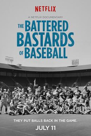 The Battered Bastards of Baseball - Promotional poster