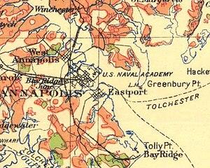 Bay Ridge and Annapolis Railroad - Image: Bay Ridge Annap