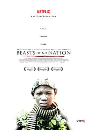 Beasts of No Nation (film) - Theatrical release poster