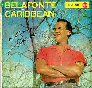 Belafonte Sings of the Caribbean - Image: Belafonte sings of the caribbean
