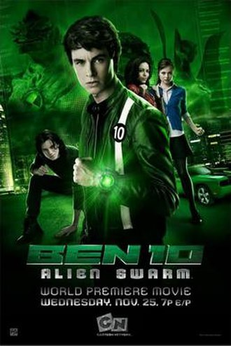 Ben 10: Alien Swarm - Promotional poster and Australian theatrical release poster