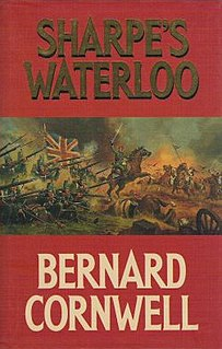 <i>Sharpes Waterloo</i> book by Bernard Cornwell