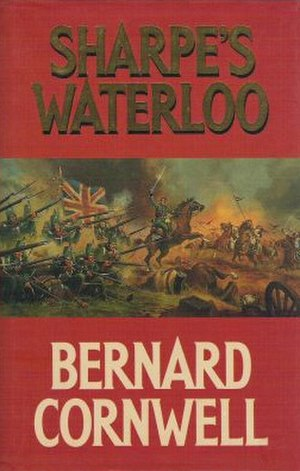 Sharpe's Waterloo (novel) - First edition cover