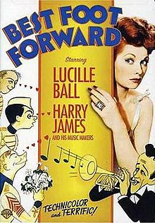 Plej bona Foot Forward Movie Poster.jpg