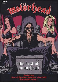 <i>The Best of Motörhead</i> 2002 compilation DVD by Motörhead