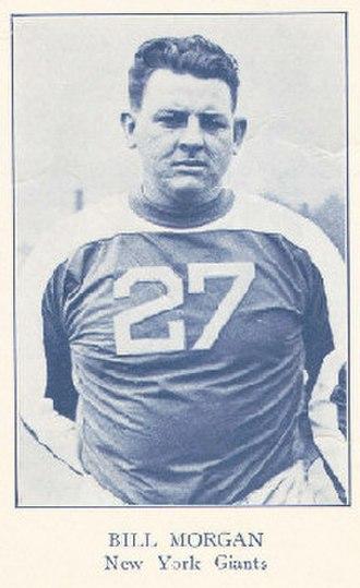 Bill Morgan (American football) - Image: Bill Morgan (American football)