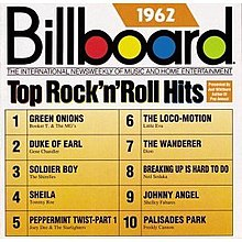 Billboard top rock 39 n 39 roll hits 1962 wikipedia for 1988 music charts