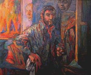 Bernard Krigstein - Bernard Krigstein self-portrait