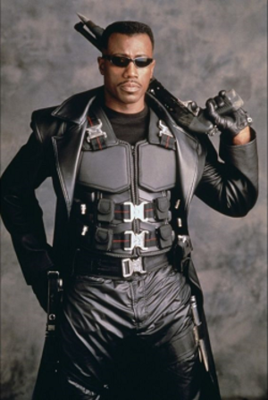 Blade (comics) - Wesley Snipes as the titular character in Blade film series.