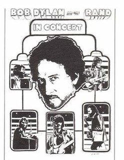 Bob Dylan and the Band 1974 Tour concert tour