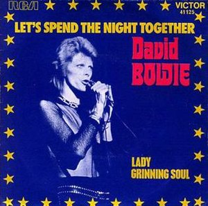 Let's Spend the Night Together - Image: Bowie letsspendthenight