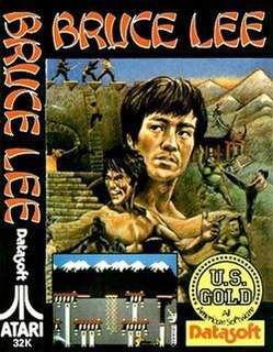 <i>Bruce Lee</i> (video game) 1984 fighting video game