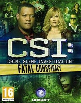CSI: Fatal Conspiracy - Image: CSI Fatal Conspiracy cover