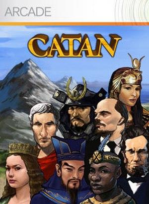 Catan (2007 video game) - The Xbox Live Arcade cover