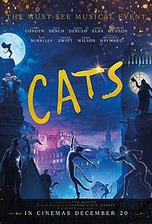 <i>Cats</i> (2019 film) 2019 film directed by Tom Hooper