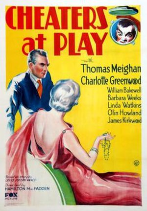 Cheaters at Play - Theatrical release poster