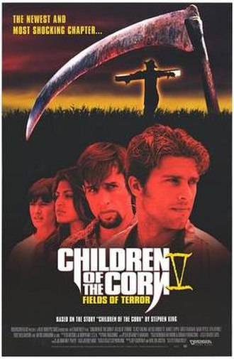 Children of the Corn V: Fields of Terror - Promotional poster