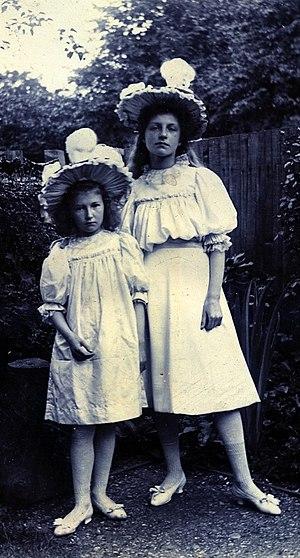 Christabel Baxendale - Image: Christabel Baxendale 1896
