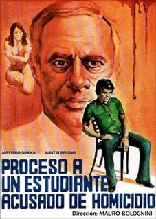 <i>Chronicle of a Homicide</i> 1972 film by Mauro Bolognini
