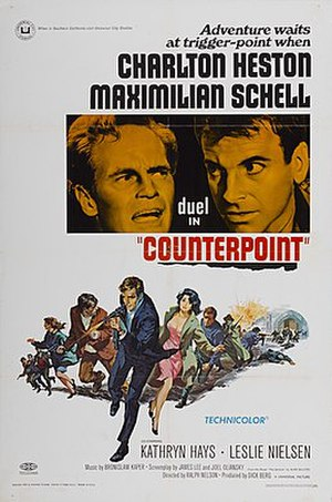 Counterpoint (1968 film) - Film Poster