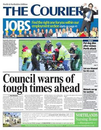 The Courier (Dundee) - Image: Courier b