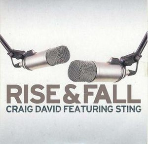 Rise & Fall (Craig David song) - Image: Craig David Featuring Sting Rise & Fall (CD)