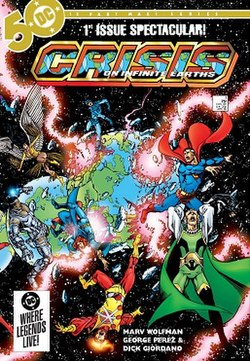 Crisis on Infinite Earths - Wikipedia