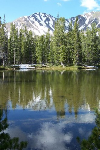 Tobacco Root Mountains - Curly Lake in the Tobacco Root Mountains