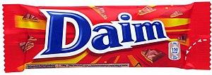 Daim bar - Image: Daim Wrapper Small