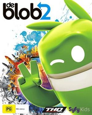 De Blob 2 - Australian Xbox 360 cover art