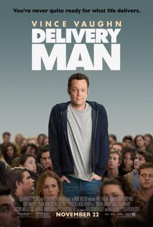 Delivery Man (film) - Theatrical release poster