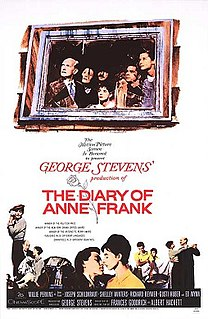 <i>The Diary of Anne Frank</i> (1959 film) 1959 American film directed by George Stevens