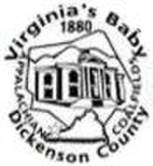 Dickenson County, Virginia - Image: Dickenson Seal