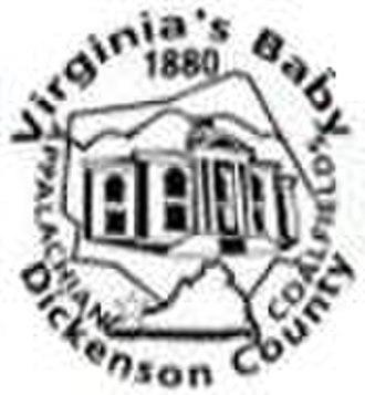 Dickenson County, Virginia - Image: Dickenson Seal