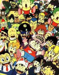 List of Dr  Slump characters - Wikipedia