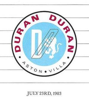 Duran Duran's charity concert at Villa Park 1983 - Logo