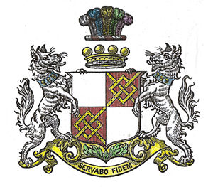 Baron Sherborne - Arms of the Barons Sherborne
