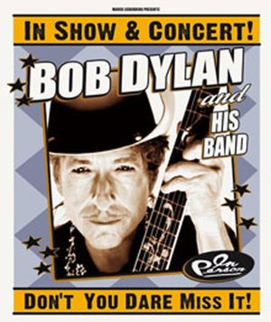 Never Ending Tour 2011 - Image: Dylan Tour Poster 2011