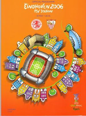 2006 UEFA Cup Final - Match programme cover