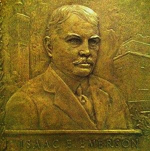 Isaac Edward Emerson - Image: Emerson plaque sm