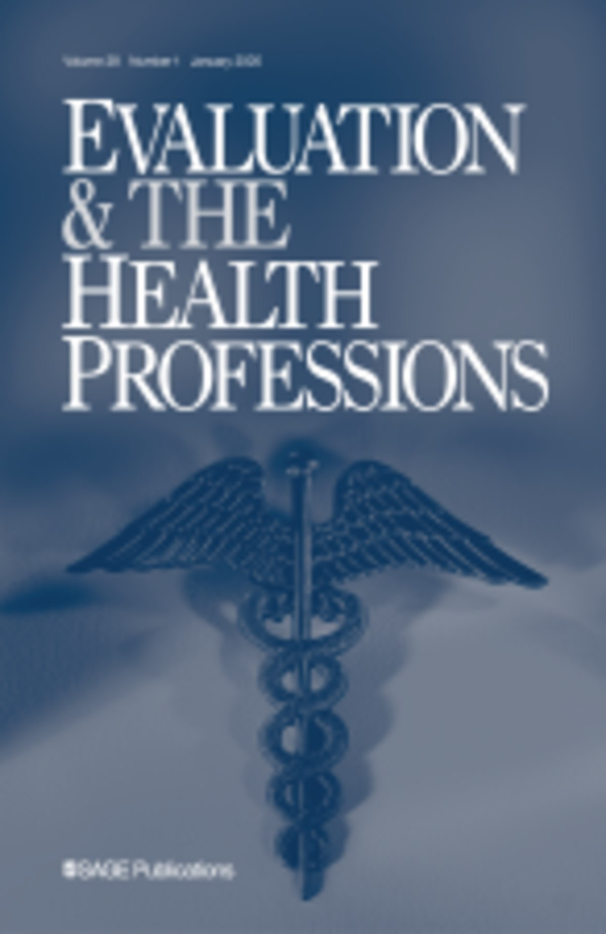 evaluation  u0026 the health professions