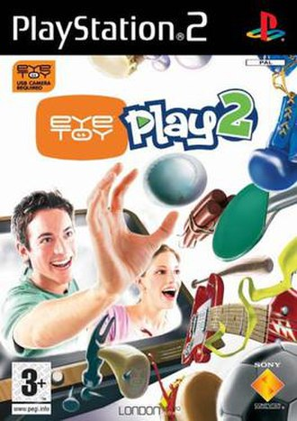 EyeToy: Play 2 - PAL Game cover